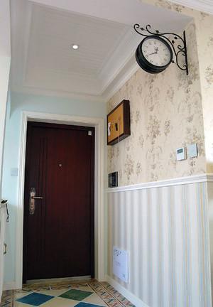 两室一厅玄关背景墙装饰