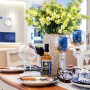 地中海风格餐桌布置