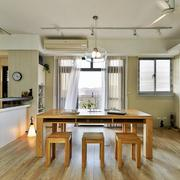 商品房小型厨房吧台装饰