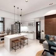 小户型简约风格客厅地板装饰