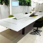 简约风格会议室办公桌