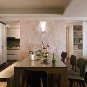 简欧风格餐厅桌椅装饰