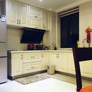 欧式简约厨房软装整体橱柜