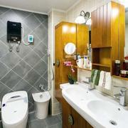 120平米房屋卫生间效果图