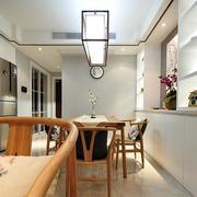 中式家装简约餐厅灯饰