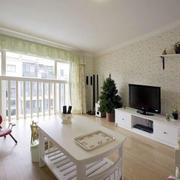 简约风格复式楼客厅装饰
