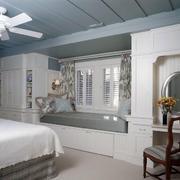 卧室简约风格榻榻米设计