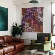 美式客厅沙发样板房