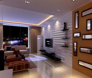 120平米简约大气带有个性的北欧风格客厅装修效果图