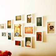 简约风格清新照片墙装修