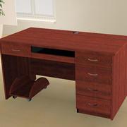 红木设计办公桌装饰