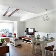 现代家装客厅装饰