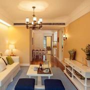 两室一厅客厅灯饰设计