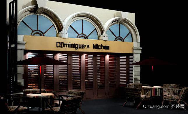 浪漫有情调咖啡厅装修效果图