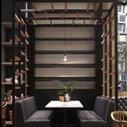 咖啡厅小型置物架装饰