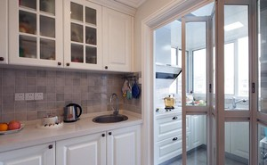 美式阁楼简约风格厨房装饰