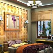 欧式风格卧室床头装饰