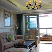 两室一厅沙发背景墙装饰