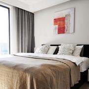 两室一厅卧室床头背景墙