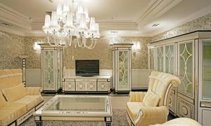 比传统的专修更有艺术范:欧式客厅装修效果图
