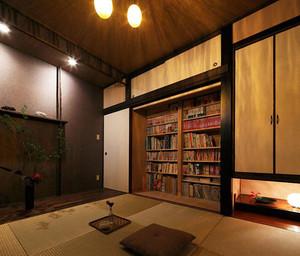 小户型日式清新简约书房装修效果图