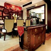 别墅装饰风格客厅桌椅装饰