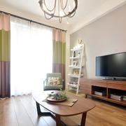 两室一厅美式客厅灯饰装饰