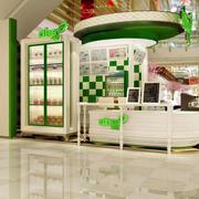 小户型甜食店吊顶