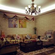 室内客厅软装效果图