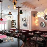 美式风格咖啡厅吊顶装饰