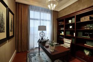 120平米房屋书房装饰