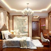 欧式风格床头背景墙