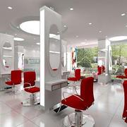 现代简约风格美发店设计