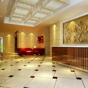 欧式宾馆前台装饰