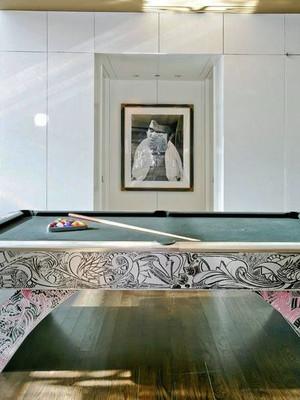 休闲时尚的别墅室内娱乐装修效果图