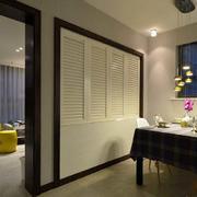 公寓餐厅背景墙效果图