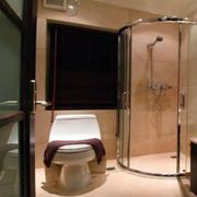 简欧风格卫生间独立淋浴装饰