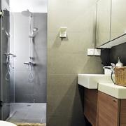 两室一厅卫生间效果图
