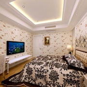 欧式风格简约卧室墙饰装饰