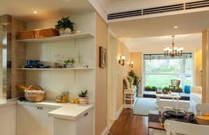 两室一厅厨房置物架