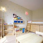 复式楼简约儿童房设计