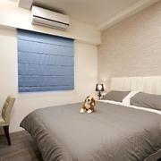 公寓简约风格卧室飘窗装饰