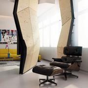 公寓简约风格沙发椅装饰