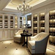 欧式奢华酒窖吊顶设计
