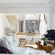 别墅客厅样板房装饰