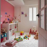 简约风格儿童房背景墙装饰