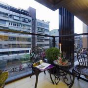 别墅美式风格阳台装饰