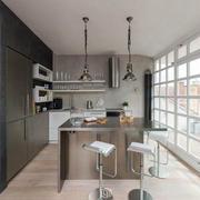后现代风格厨房背景墙