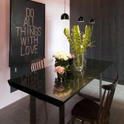 后现代风格公寓餐厅吊灯设计