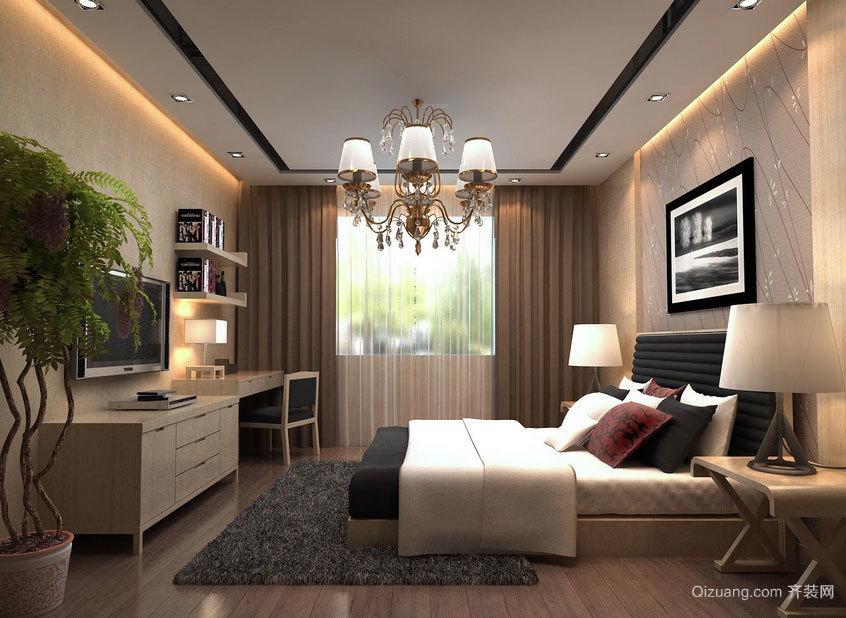搬进来就能住:豪华舒适现代型新房装修效果图鉴赏